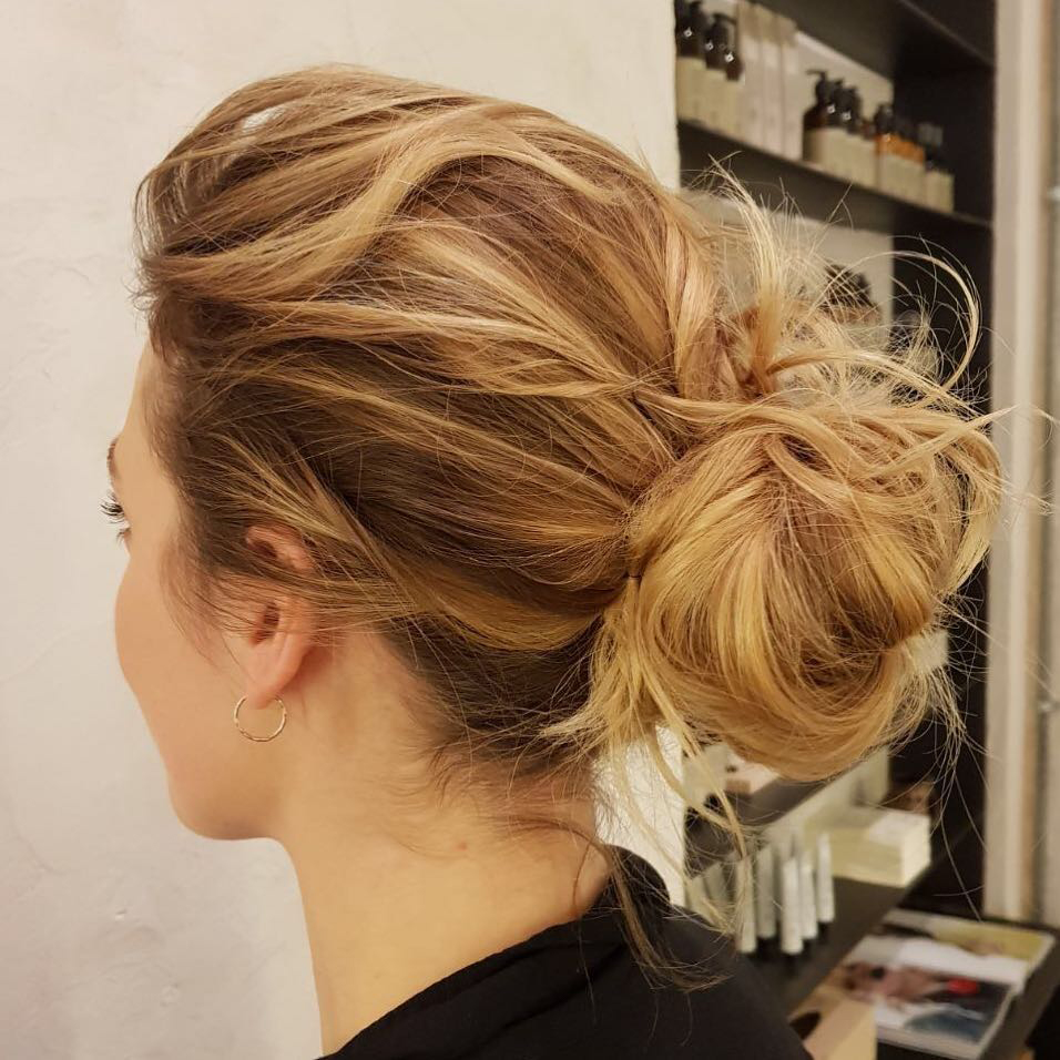 bridal hair and hair-up styling at ESHK Hairdressers in London