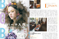 ESHK, Hair, Bob Magazine Japan, magazine, press, London, best hairdresser