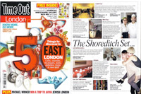 ESHK, Hair, Time Out, magazine, press, London, best hairdresser