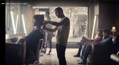 BBC iPlayer add shot at ESHK Hair Shoreditch, hairdresser in London
