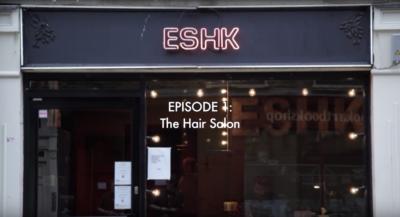 Episode of CraneTV shot at ESHK Hair Shoreditch, hairdresser in London
