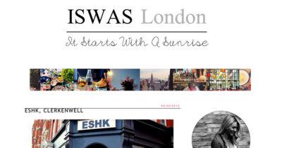 ISWAS London blog reviews ESHK Clerkenwell