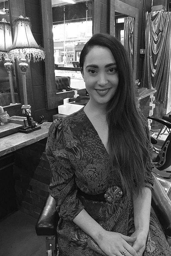 Meet Lisa, stylist at ESHK Hair Shoreditch, London.