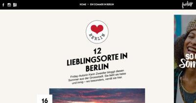ESHK Neukölln featured on Friday Magazine (friday-magazine.ch)
