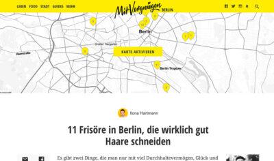 ESHK Neukölln featured on Mit Vergnügen top 11 best hairdressers Berlin