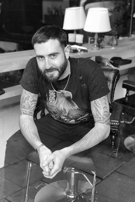 Meet Alex, stylist at ESHK Hair Barbican, London