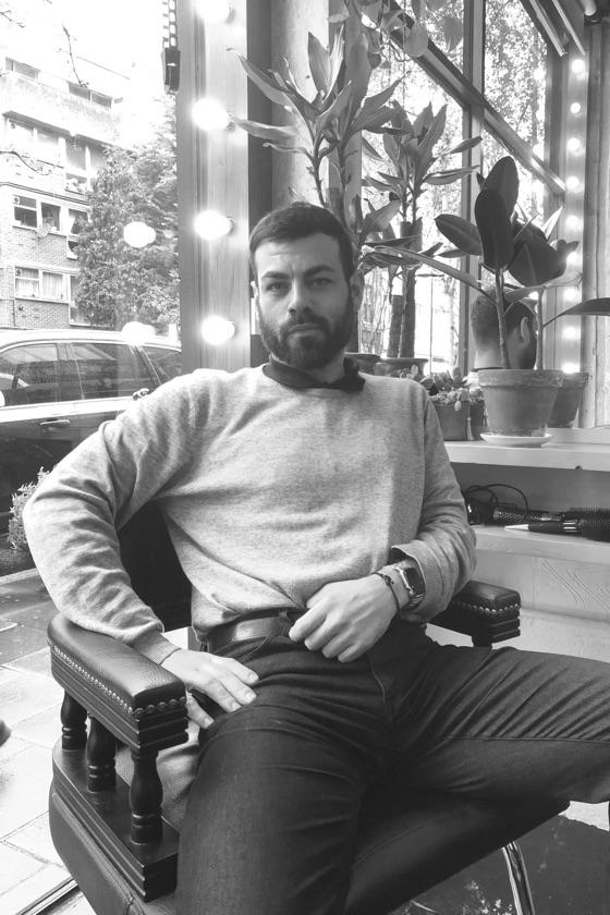 Meet Ramon, stylist at ESHK Hair Barbican, London.