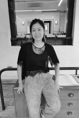 Meet Haruna, stylist at ESHK Hair Clerkenwell, London.