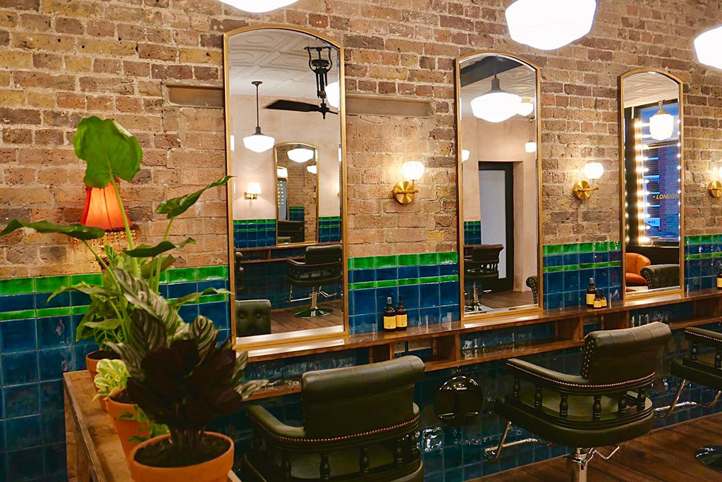 decoration interior design at eshk hair shoreditch