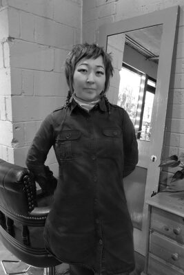 Izumi Japanese hairstylist in our Shoreditch hairdresser