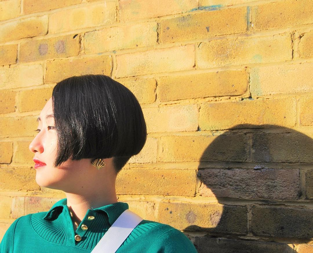 womens haircut asian short bob