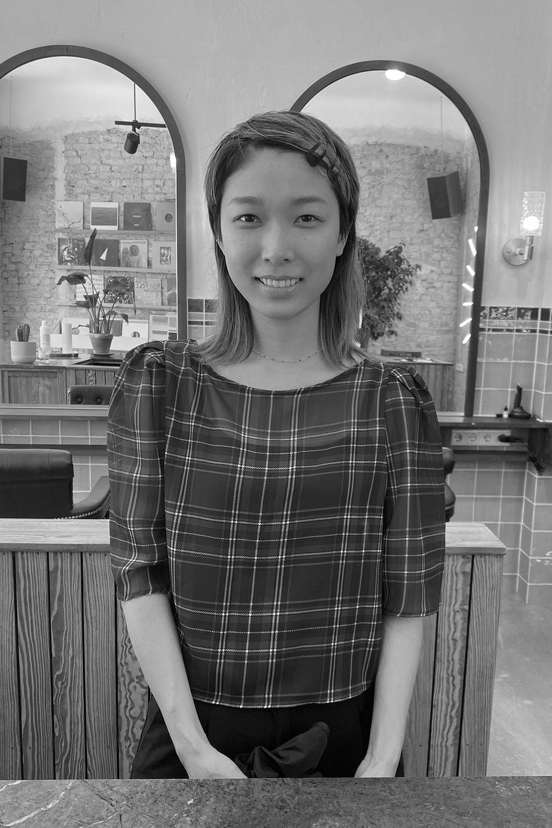 Anri hair salon assistant in Moabit Berlin