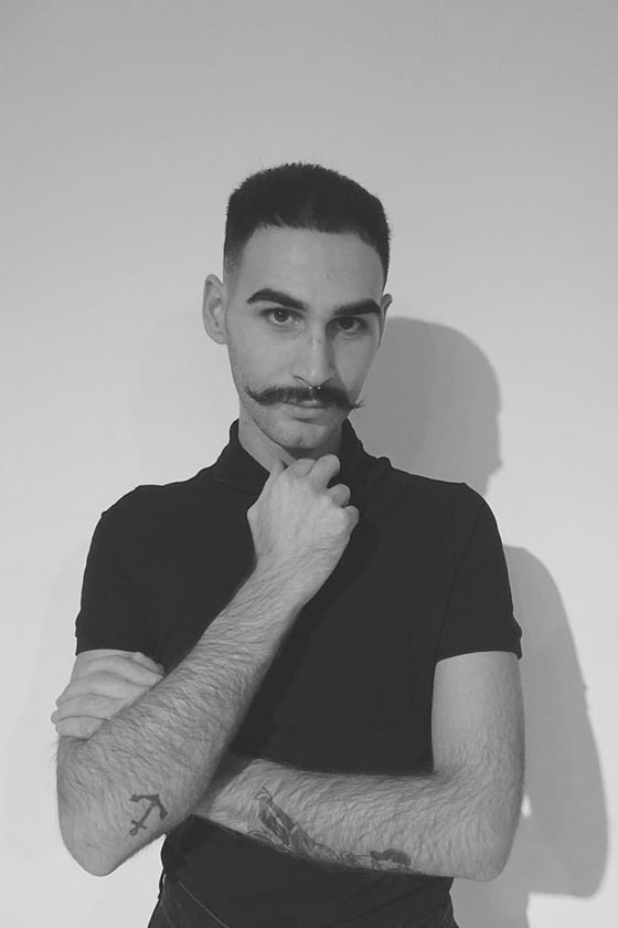 Luigi senior colour technician shoreditch at ESHK Hair London